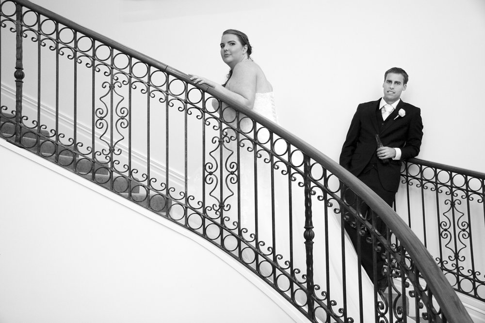 Astra bride Nicole | Classic Garden wedding | Sarnia Park | Photography by Warwick Tilly | Sarnia Park staircase | |