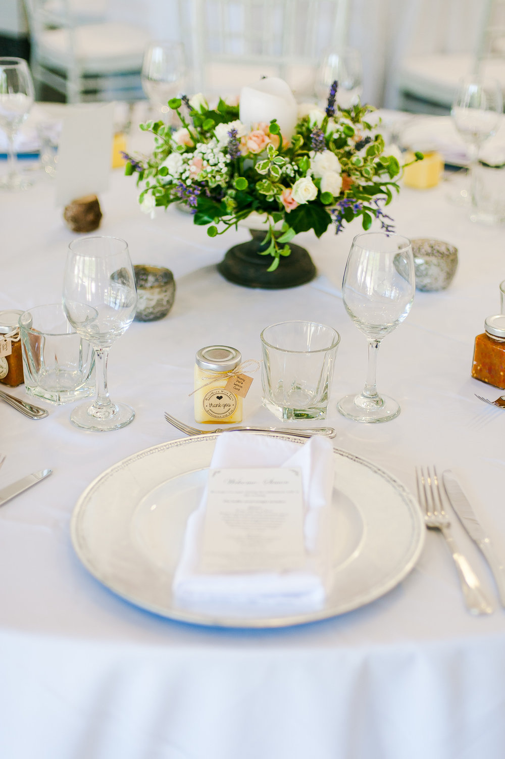 Classic Wedding Table decor | Astra Bridal Featured bride Claire | Wedding dress from Astra Bridal | www.astrabridal.co.nz