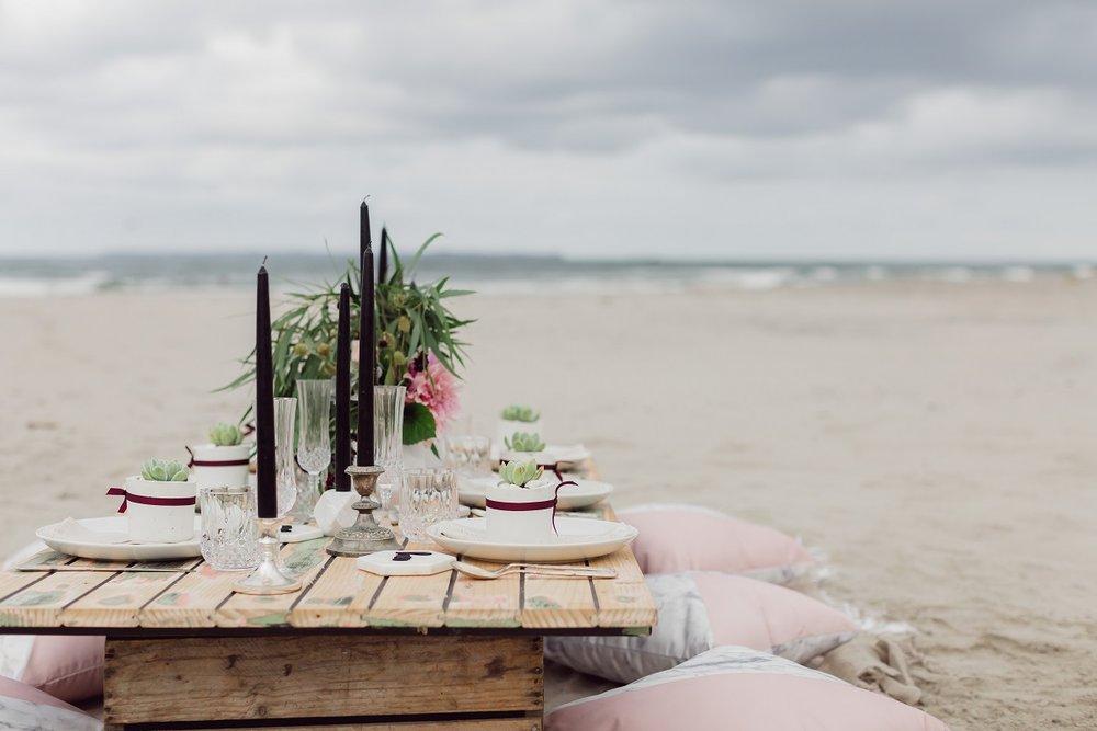 Beach Boho On Location shoot | wedding dress from Asra Bridal | www.borrowedandblue.kiwi