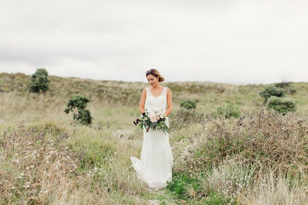 Beach Boho On Location shoot   wedding dress from Asra Bridal   www.borrowedandblue.kiwi