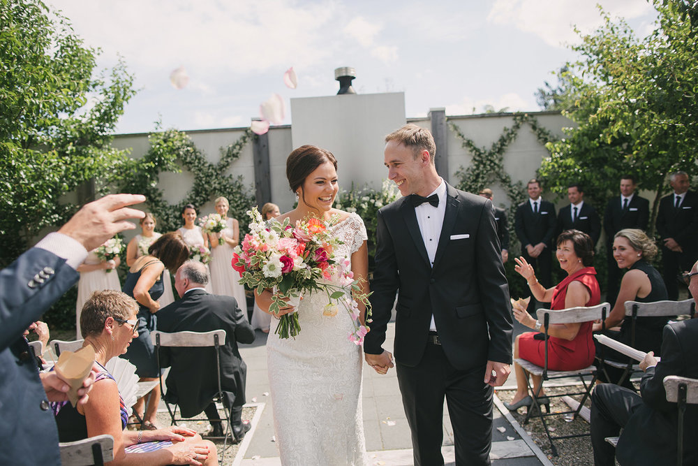 Astra Bride Charlotte's gorgeous garden wedding | Gown by Sottero and Midgely from Astra Bridal | www.borrowedandblue.kiwi