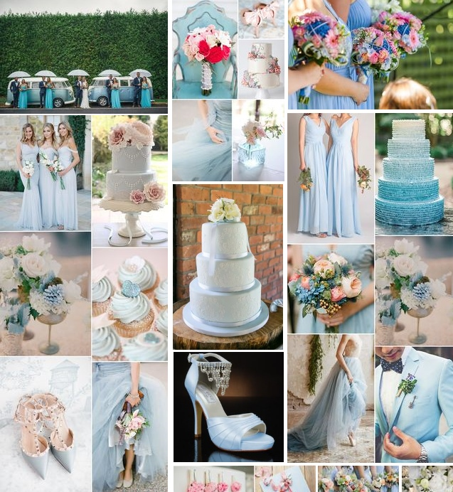 Pale blue wedding inspiration | Found for you by Astra Bridal and www.borrowedandblue.kiwi