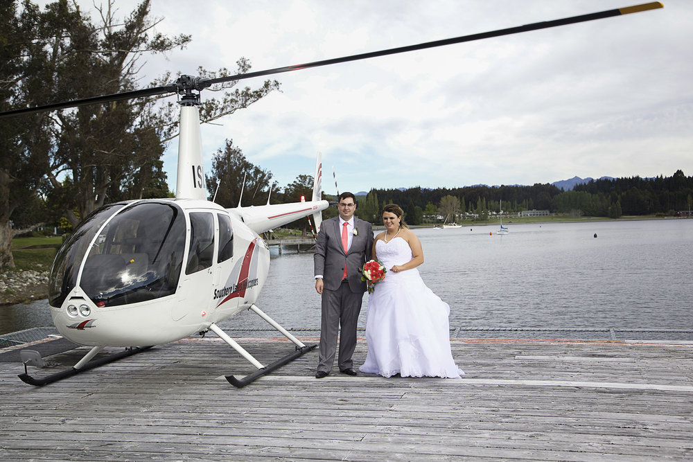 Southern Lakes Helicopter | Astra Bride: Tyna | Lake Te Anau wedding | Photography: Nicole Mennell Photography |