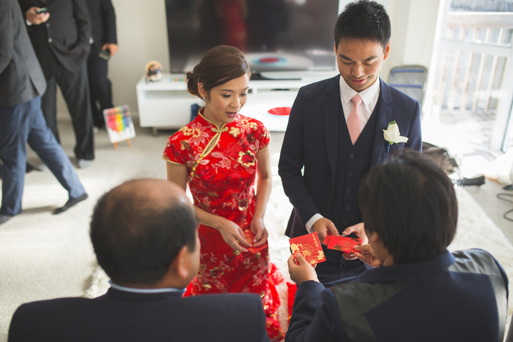 Traditional tea ceremony | Astra Bride Melissa | Bonny bridal gown | Kenrick Rhys Photography |