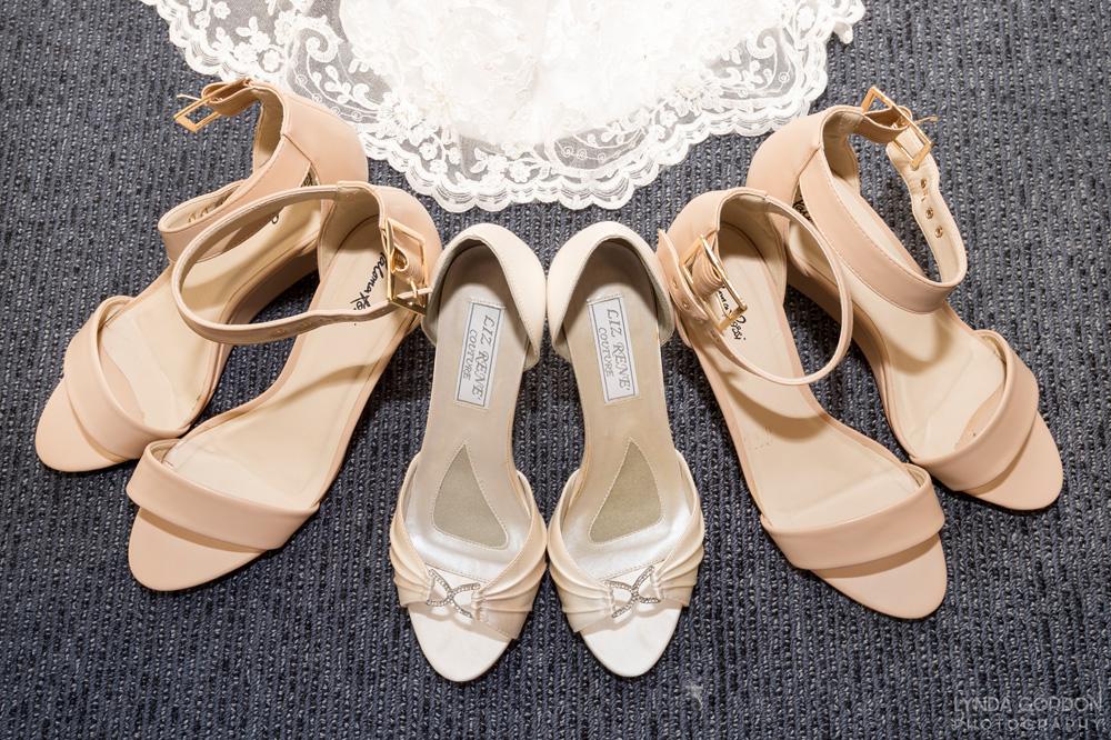 Liz Rene silk wedding shoes | Astra Bride Sophia | Sileni Wine Estate | Maggie Sottero Emma | Lynda Gordon Photography