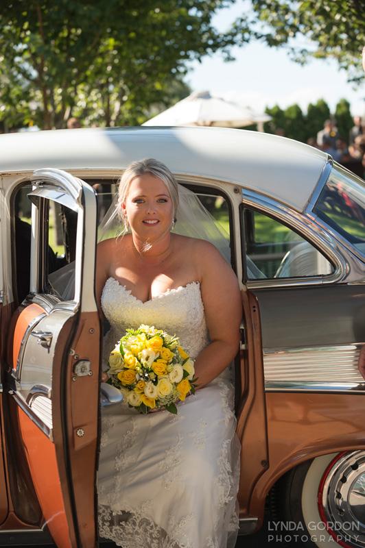 Arriving at the Estate | Astra Bride Sophia | Sileni Wine Estate | Maggie Sottero Emma | Lynda Gordon Photography