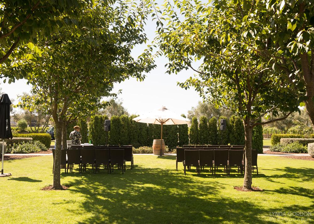 Outdoor ceremony | Astra Bride Sophia | Sileni Wine Estate | Maggie Sottero Emma | Lynda Gordon Photography