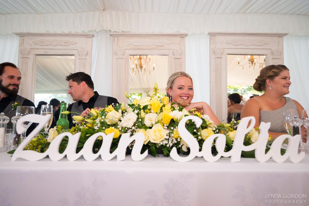 Top table | Astra Bride Sophia | Sileni Wine Estate | Maggie Sottero Emma | Lynda Gordon Photography
