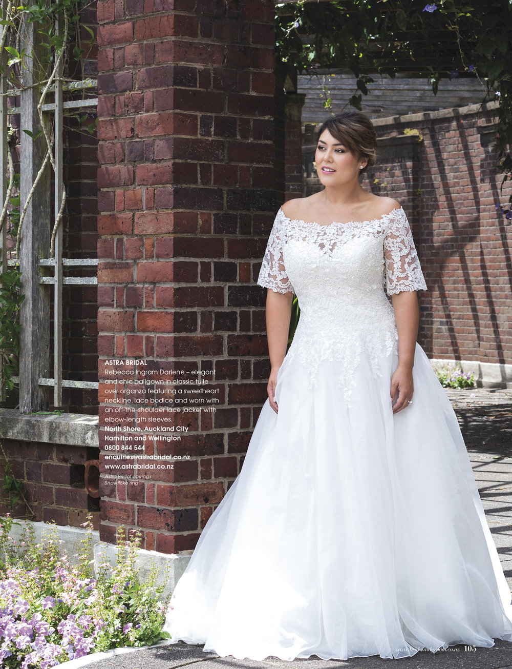 Rebecca Ingram (by Maggie Sottero) perfect for the curvy bride.