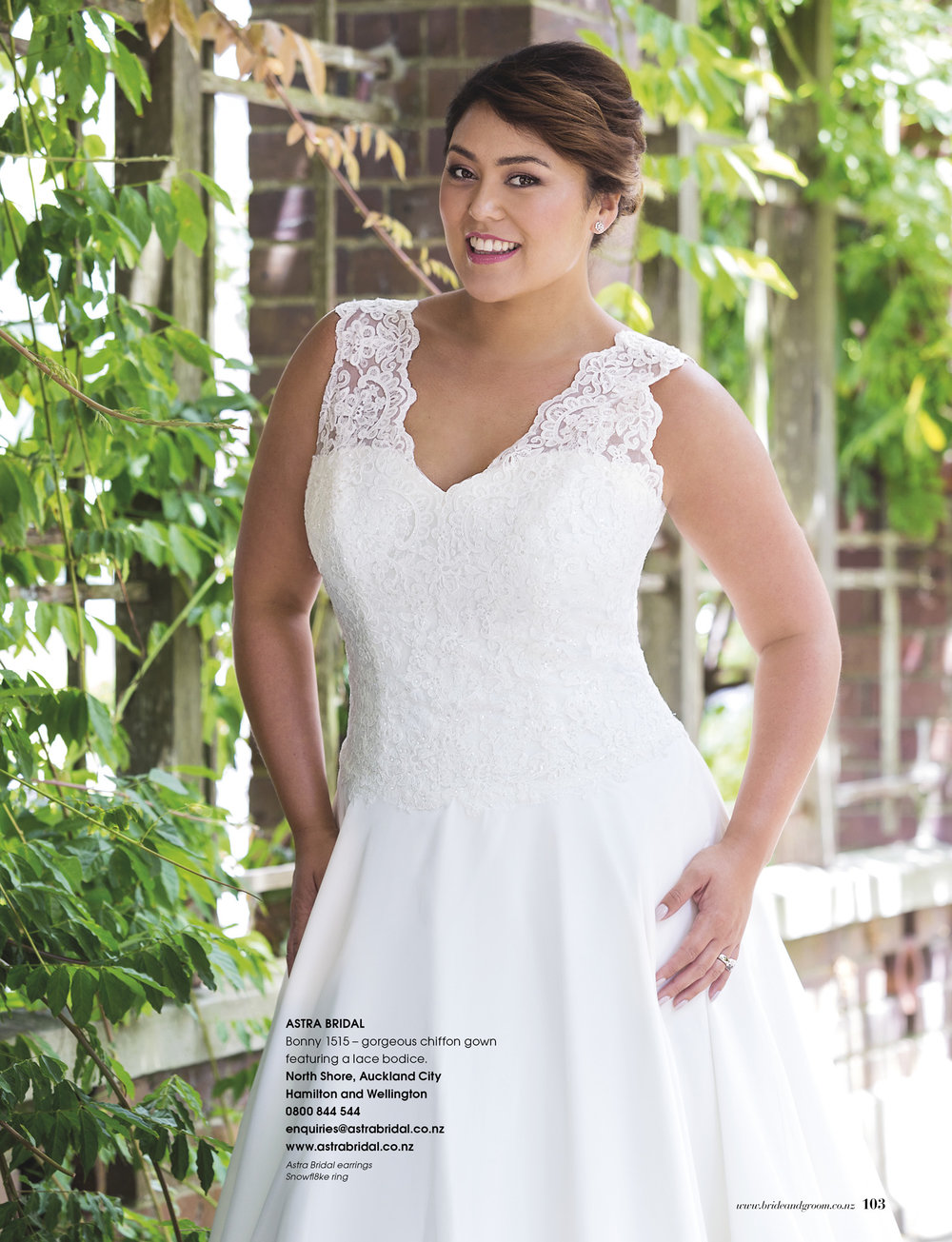 Bonny 1515 - From the unforgettable range by Bonny, starting at size 18, gowns specifically designed for the bride with more.