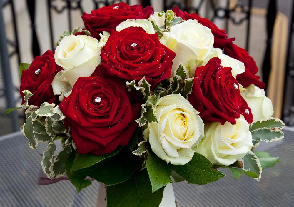 Formal red roses | Astra Bride Natasha | Maggie Sottero Chesney | UK Manor House |