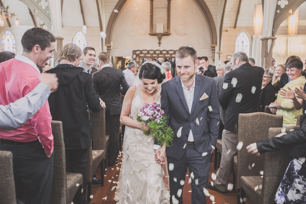 Congratulations | Astra Bride Cloe | Maggie Sottero Gianna | The Old Church Napier | Vintage Wedding | Richard Wood photographer |