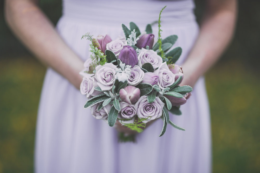 Bridesmaids bouquets | Astra Bride Cloe | Maggie Sottero Gianna | The Old Church Napier | Vintage Wedding | Richard Wood photographer |
