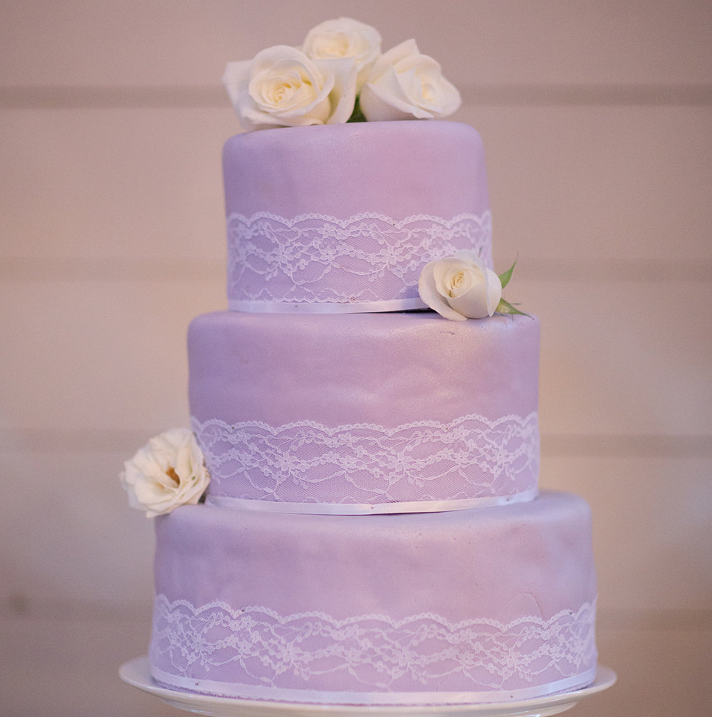 Lavender cake | Astra Bride Cloe | Maggie Sottero Gianna | The Old Church Napier | Vintage Wedding | Richard Wood photographer |