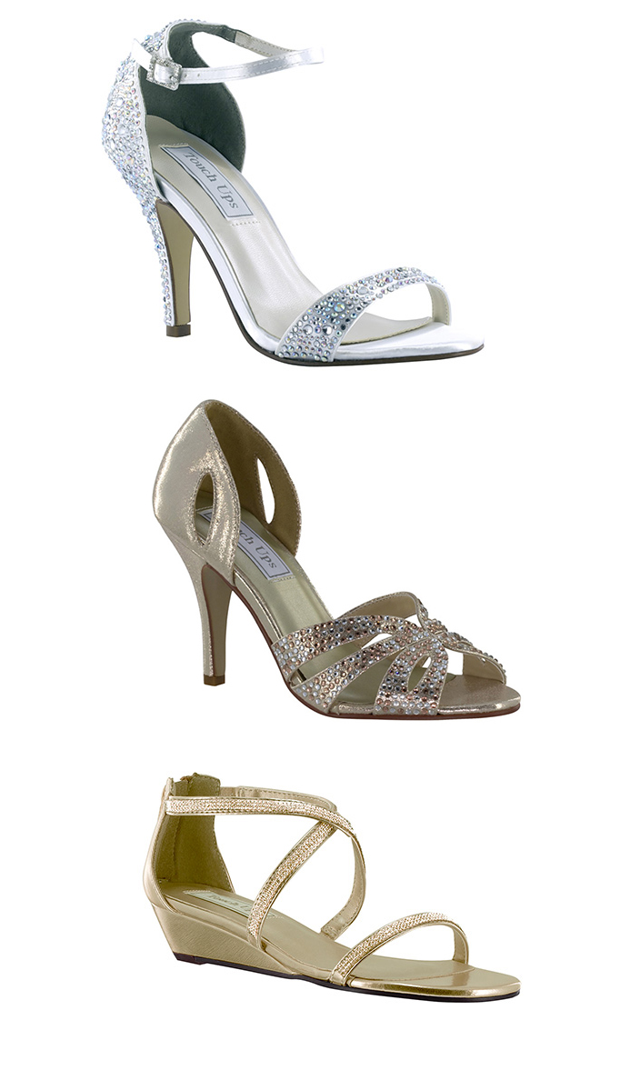 Strappy shoes are great for a summer wedding and when you have been working on the perfect pedicure.