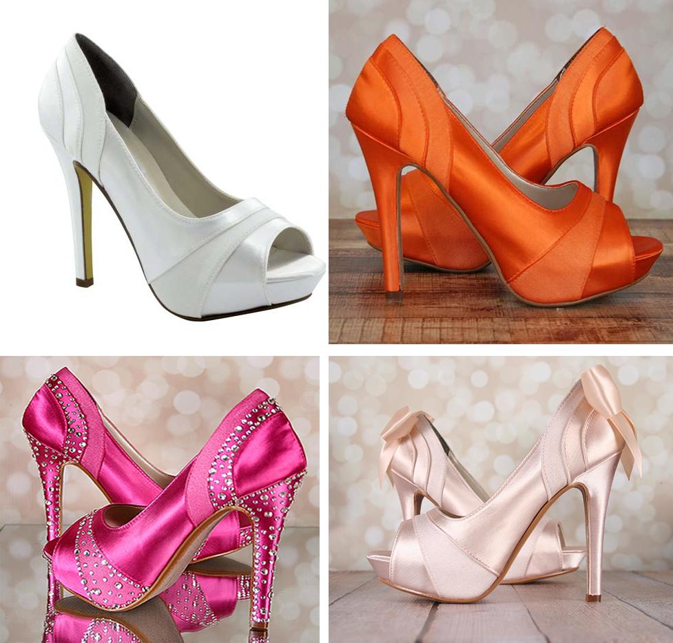 Emmy shoe customised by Ellie Wren | See customweddingshoe.com for details |