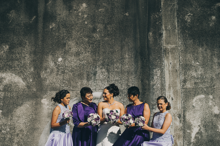 Purple and Lilac bridesmaids | Astra bride Elysia | Marys bridal 6311 | David Le Photography
