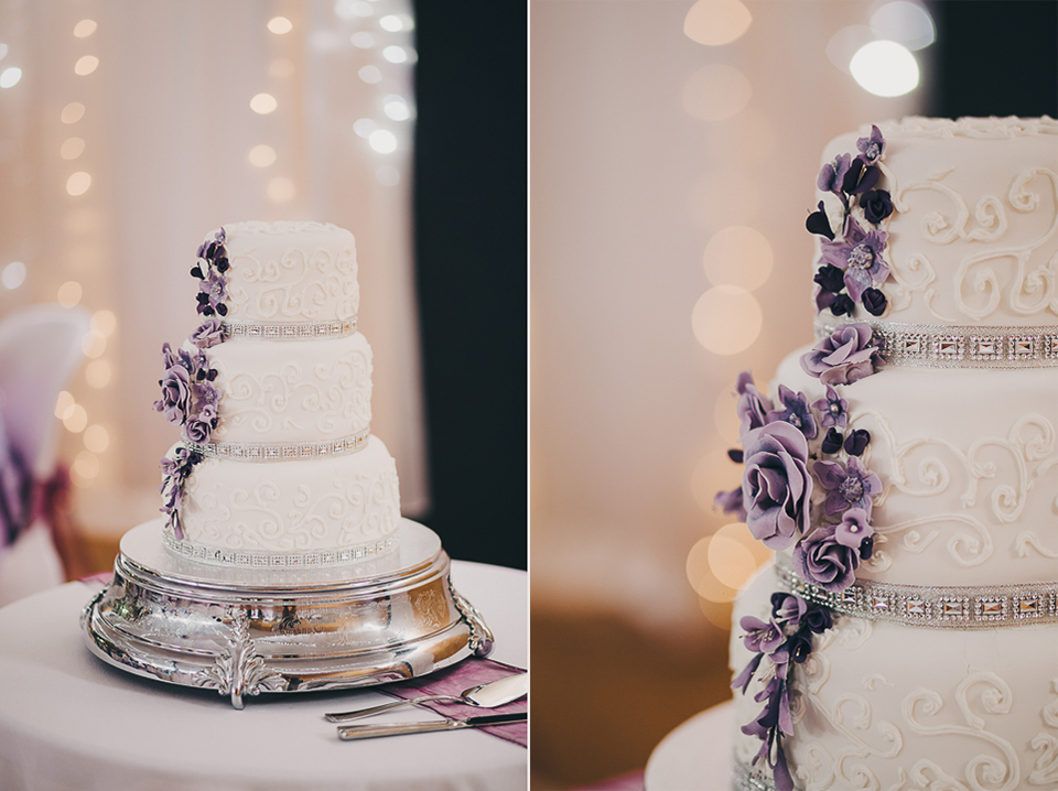 Floral cake | Astra bride Elysia | Marys bridal 6311 | David Le Photography
