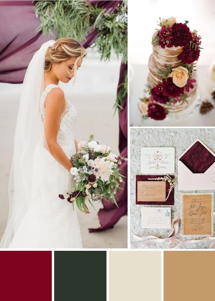Seven winter wedding palettes | www.astrabridal.co.nz | www.borrowedandblue.kiwi