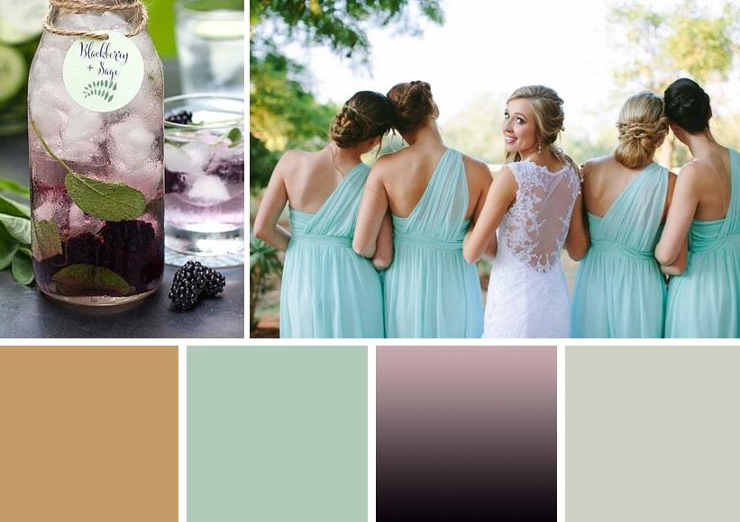 7 wedding palette inspiration | www.astrabridal.co.nz | www.borrowedandblue.kiwi