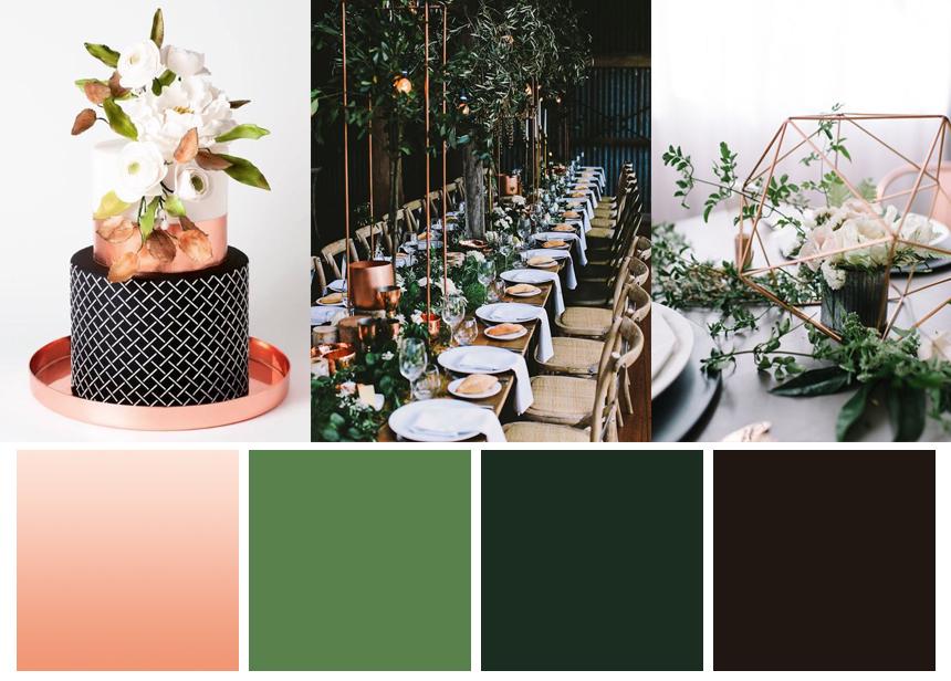 7 palettes of winter wedding inspiration | www.astrabridal.co.nz | www.borrowedandblue.kiwi
