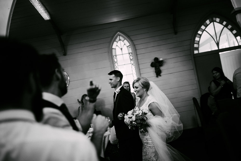 After the vows | Astra Bride Simone | Maggie Sottero Melitta | The Old Church Napier | Brad Boniface Photographer |