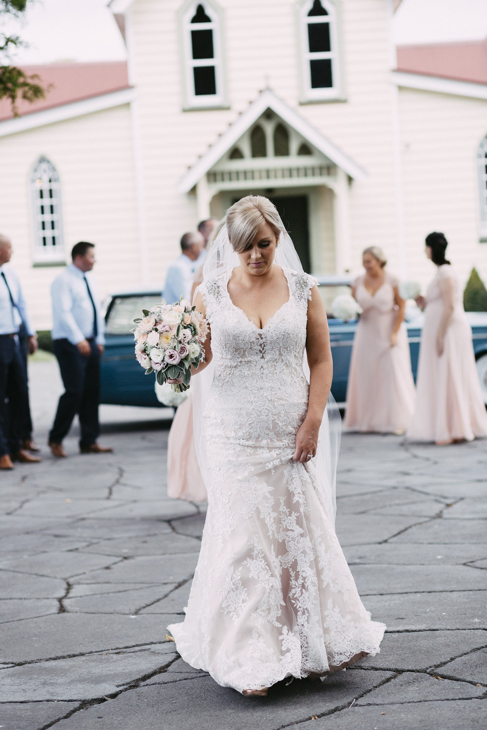 Melitta | Astra Bride Simone | Maggie Sottero Melitta | The Old Church Napier | Brad Boniface Photographer |