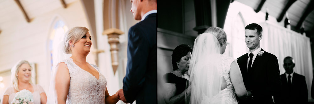 Vows | Astra Bride Simone | Maggie Sottero Melitta | The Old Church Napier | Brad Boniface Photographer |