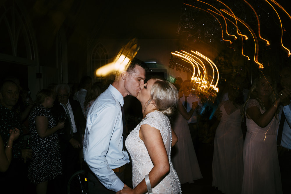 Dancing | Astra Bride Simone | Maggie Sottero Melitta | The Old Church Napier | Brad Boniface Photographer |