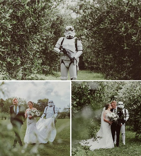 Astra Bride Courtney's Star Wars Wedding | Photography by Best Man Photography | gown from Astra Bridal | www.borrowedandblue.kiwi