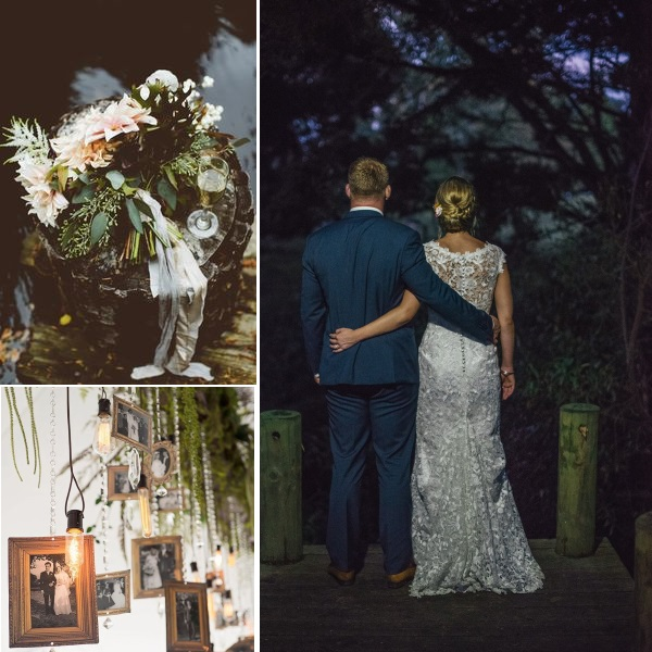 Vintage Black Wedding inspiration | gown from Astra Bridal | www.borrowedandblue.kiwi