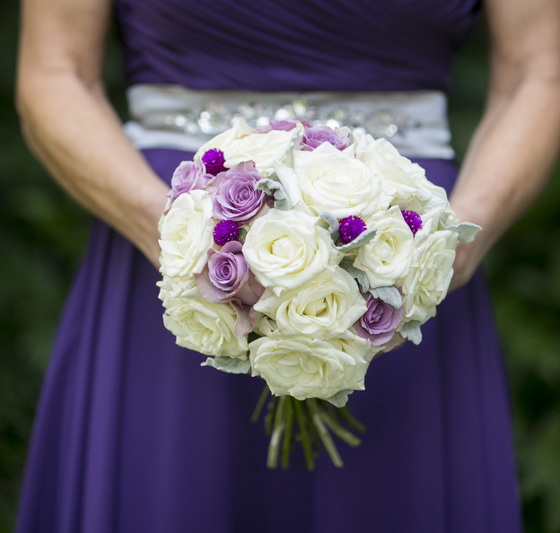 Bridesmaid bouquet | Astra bride Stacey | Sottero & Midgeley gown | Magenta Shores | Central Coast Photographers |