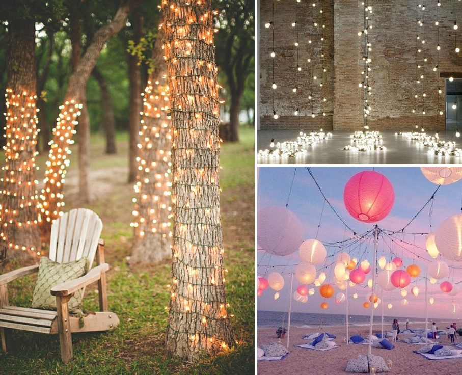 Creative wedding fairy light ideas | DIY | found for you by Astra Bridal and www.borrowedandblue.kiwi