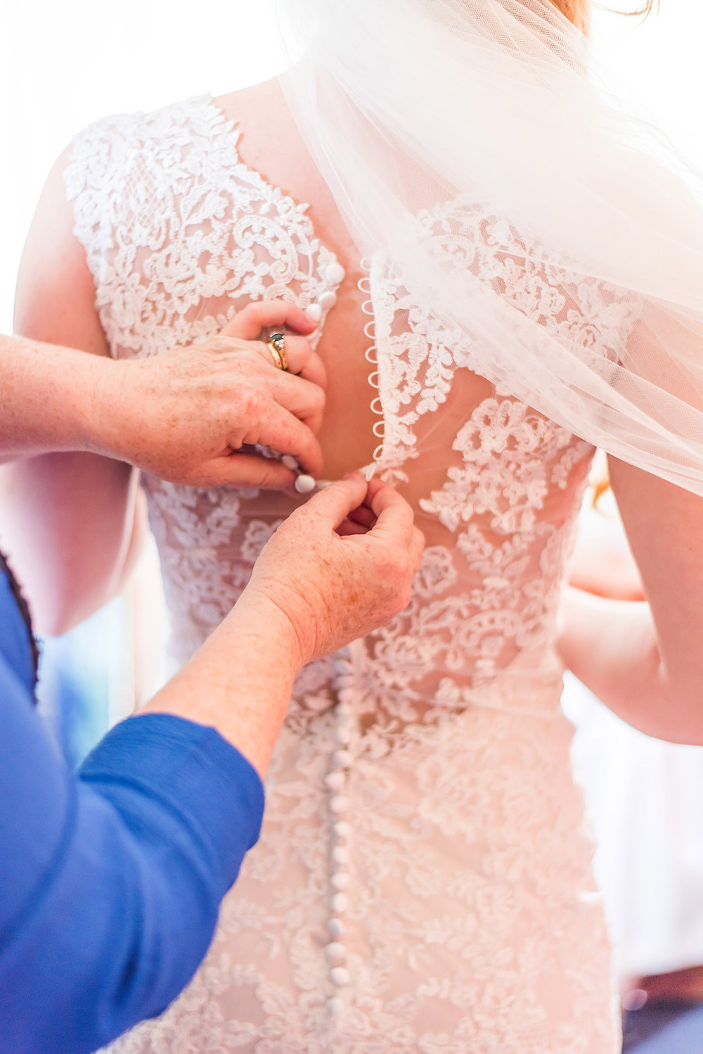 Buttoning up gown | Astra Bride Rebecca | Maggie Sottero Melanie | Letfus Photography |