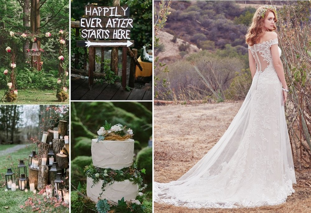 Woodlands wedding inspiration | New Zealand brides | found for you by Astra Bridal and www.borrowedandblue.kiwi