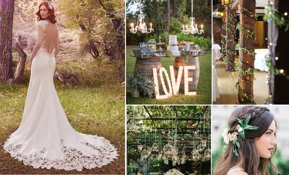 Rustic green wedding inspiration | New Zealand brides | found for you by Astra Bridal and www.borrowedandblue.kiwi