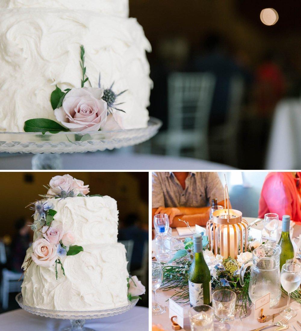 Wedding cake inspiration | Astra Bride Jacqui | New Zealand Boutique Lodge Wedding | Photography by Tinted Photography | wedding dress from Astra Bridal | www.borrowedandblue.kiwi