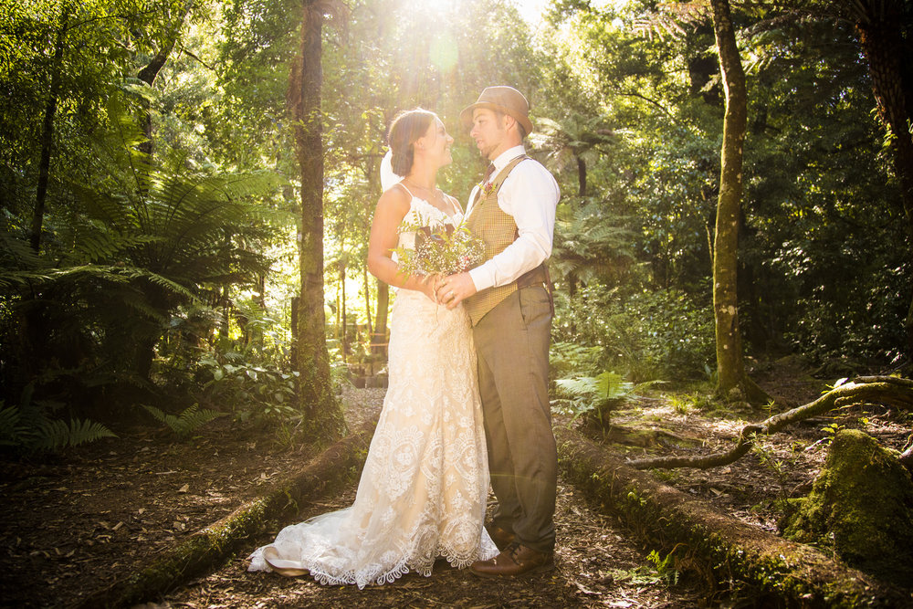 Astra Bride Kylie | Christina Rossi 4246 | Kaimai Mamaku Forest | Creative Grain Photography |