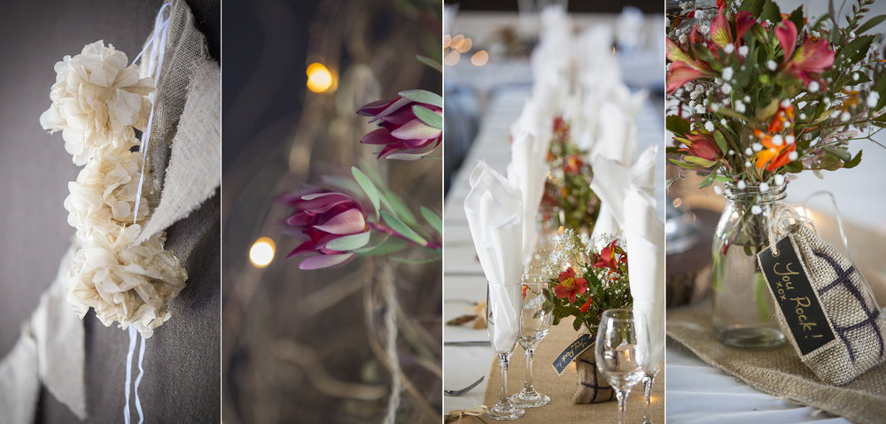 Venue Decorations | Astra Bride Kylie | Christina Rossi 4246 | Kaimai Mamaku Forest | Creative Grain Photography |