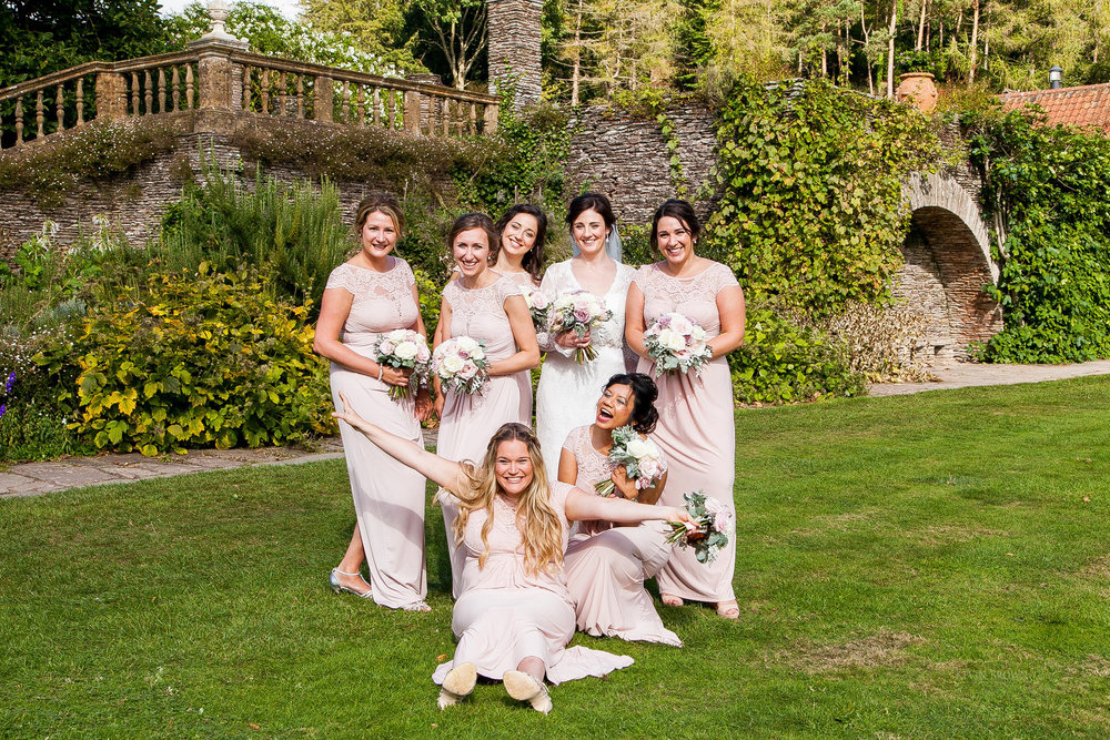 Blush Bridesmaids | Astra bride Pippa | Maggie Sottero Darla | Photography by Kevin Brown Photography | Darla exclusive in New Zealand to Astra Bridal |