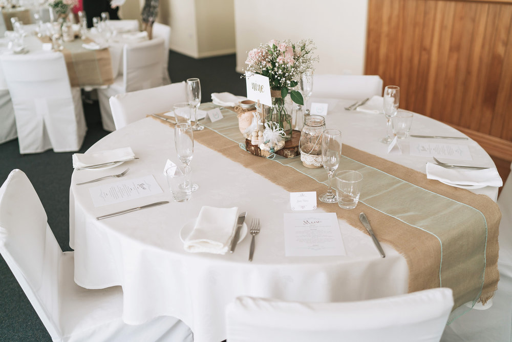 Rustic table settings | Astra Bride Lianne | Christina Rossi 4104 | Charlemagne Lodge | Rambo Estrada Photographer |
