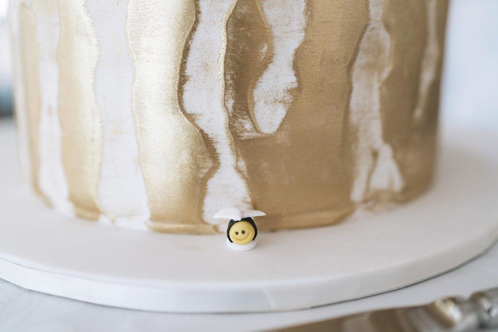 Cake closeup | Astra Bride Lianne | Christina Rossi 4104 | Charlemagne Lodge | Rambo Estrada Photographer |