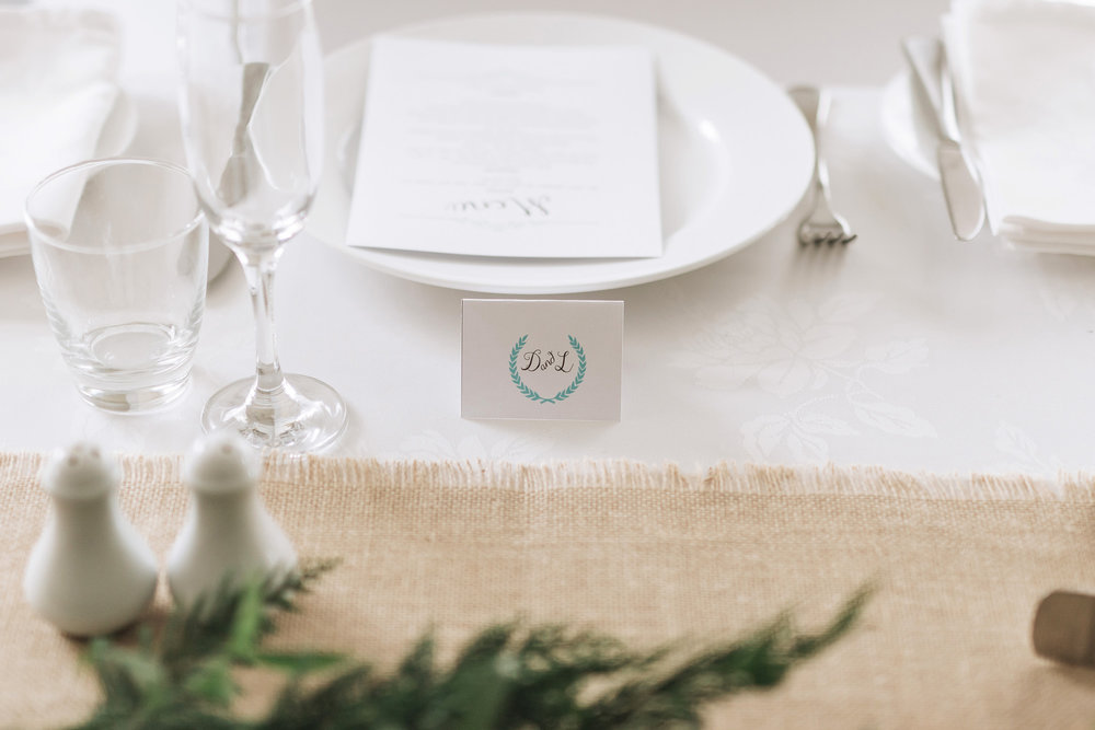 Plate setting | Astra Bride Lianne | Christina Rossi 4104 | Charlemagne Lodge | Rambo Estrada Photographer |