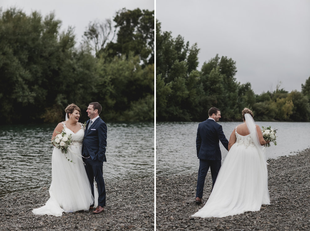 Riverside | Astra bride Michele | Maggie Sottero Shelby | Coney Wines Martinborough | Emily Adamson Photography |