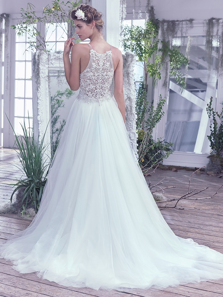 Lisette  by Maggie Sottero Embellished lace for the modern romantic.