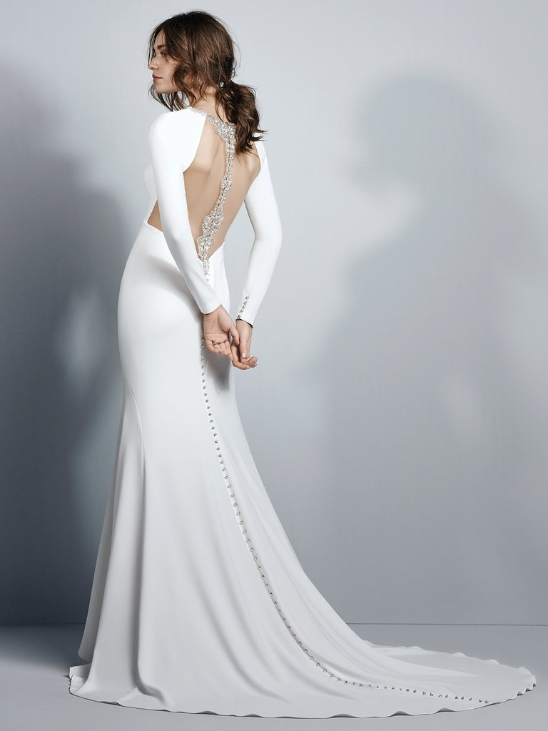 Arleigh  by Sottero and Midgley Old Hollywood, reinterpreted.