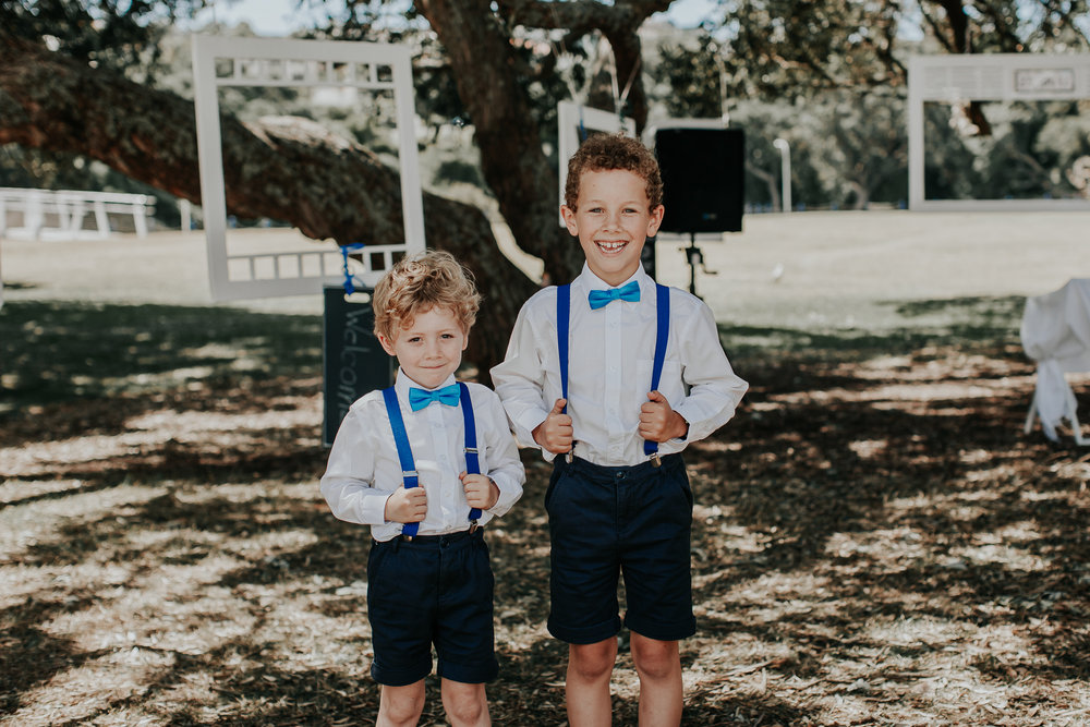 Page boys | Astra Bride Nicola | Milford Beach | Charlotte Christian Photography |