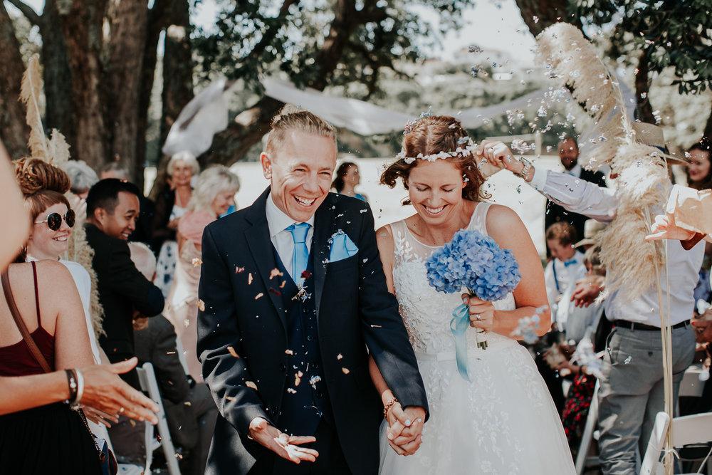Confetti | Astra Bride Nicola | Milford Beach | Charlotte Christian Photography |