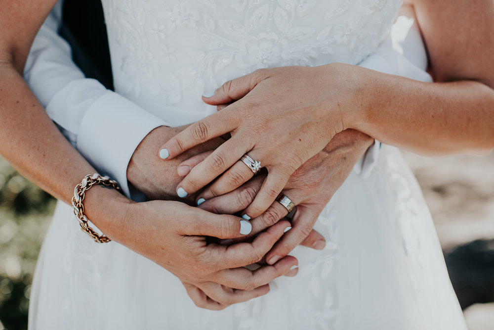 Hands | Astra Bride Nicola | Milford Beach | Charlotte Christian Photography |