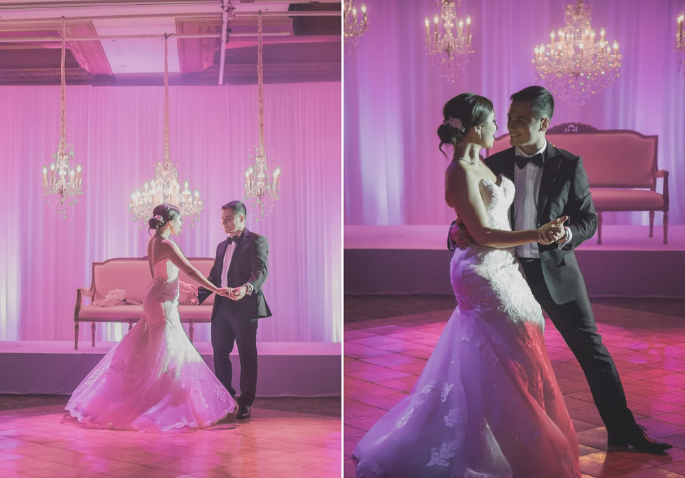 Dancing  | Astra bride Basma | Sottero & Midgley Lovai | Langham Hotel | Levien & Lens Photography |